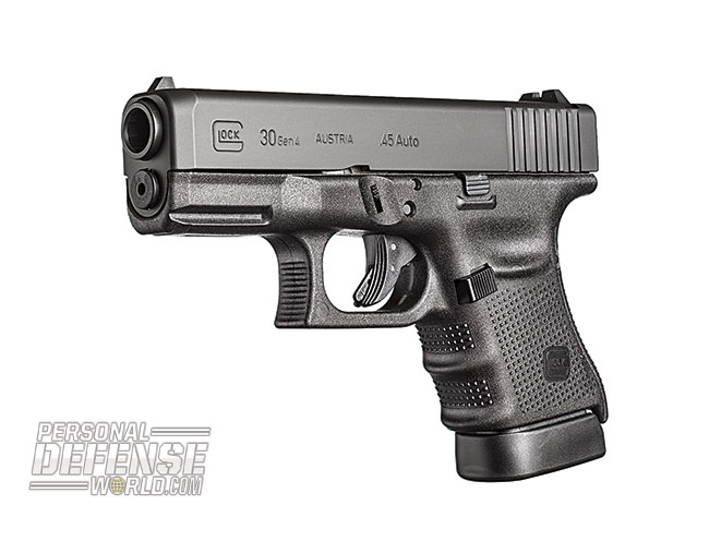 Glock 2015 Buyer's guide .45 Auto G30 Gen4