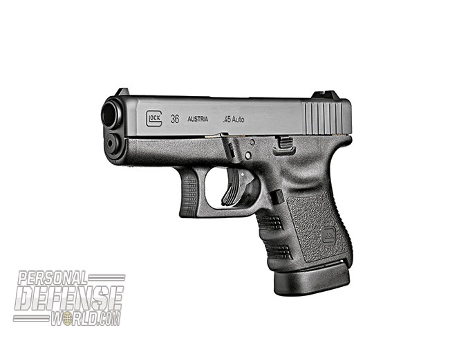 Glock 2015 buyers guide .45 Auto G36 Gen3