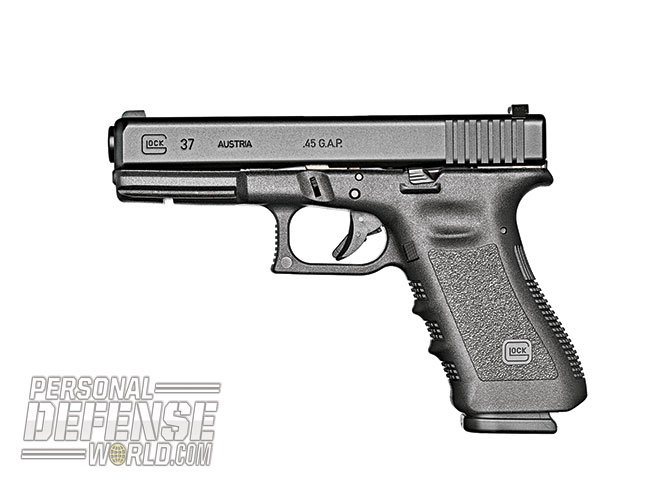 Glock 2015 buyers guide .45 G.A.P G37 Gen4