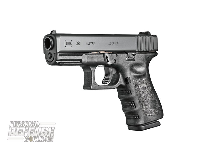 Glock 2015 buyers guide .45 G.A.P G38 Gen3
