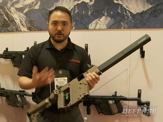 New For 2015: 9mm Variant of Kriss Vector CRB