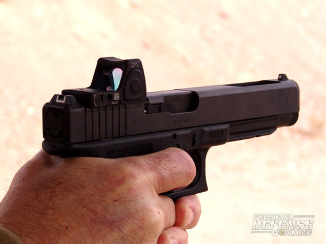 the gunny tests the new glock 40 gen4 mos