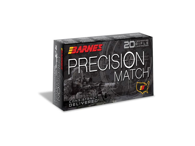 Barnes Precision Match Ammunition, precision match ammunition, precision match, barnes bullets