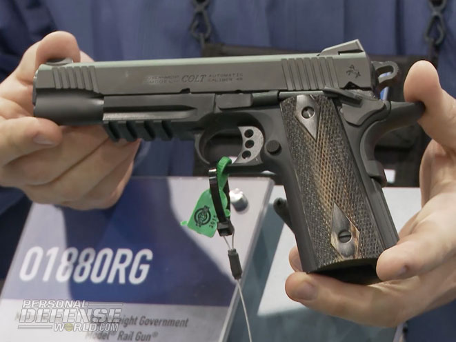 Colt Ups The Ante With Its Rail Gun Series In 2015 | VIDEO