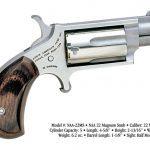 snub-nose revolver, revolvers, snub-nose revolvers, revolver, NAA .22 Magnum