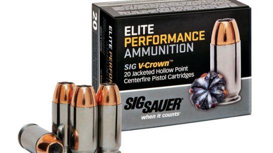 Sig Sauer Elite Performance Ammunition, sig sauer, elite performance ammunition