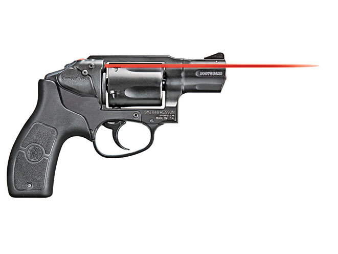 snub-nose revolver, revolvers, snub-nose revolvers, revolver, Smith & Wesson M&P Bodyguard 38 Crimson Trace