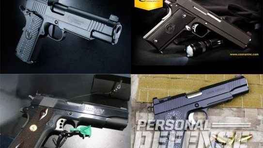 1911, 1911 pistols, 26 new 1911 style Pistols for 2015