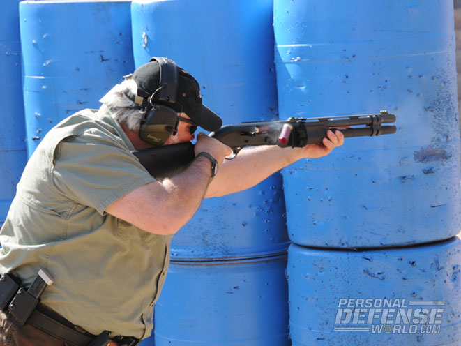 As the 3-Gun name implies, competitors get to practice their skills with pistols, rifles and shotguns—all while trying to beat the clock.