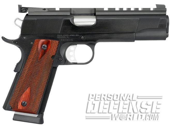 1911, 1911 pistols, 1911 guns, 1911 gun, concealed carry, rock river arms bullseye wadcutter