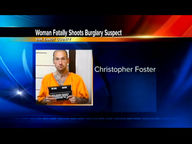 East Texas Intruder, intruder, christopher ray foster