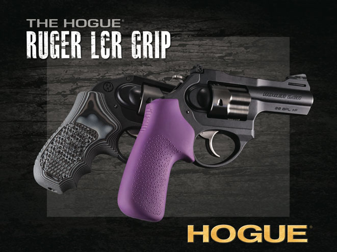 Hogue G10 & Tamer Overmolded Grips for Ruger LCR-Series