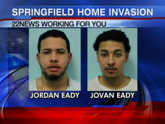 Springfield Home Invasion, home invasion, jordan eady, jovan eady