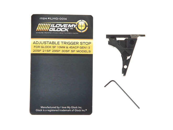 I Love My Glock's Adjustable Trigger Stop, i love my glock, adjustable trigger stop