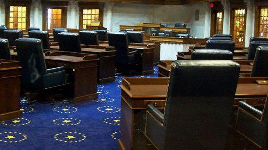 Indiana Senate short barreled shotguns