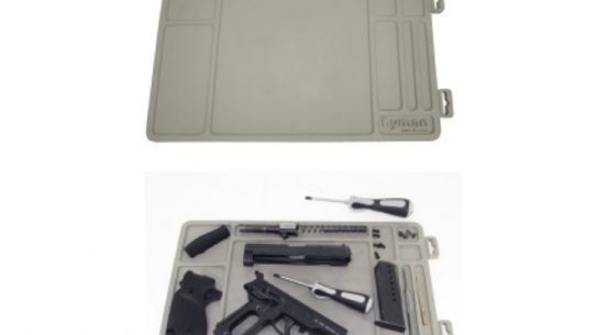 Essential Gun Maintenance Mat, Lyman's Essential Gun Maintenance Mat