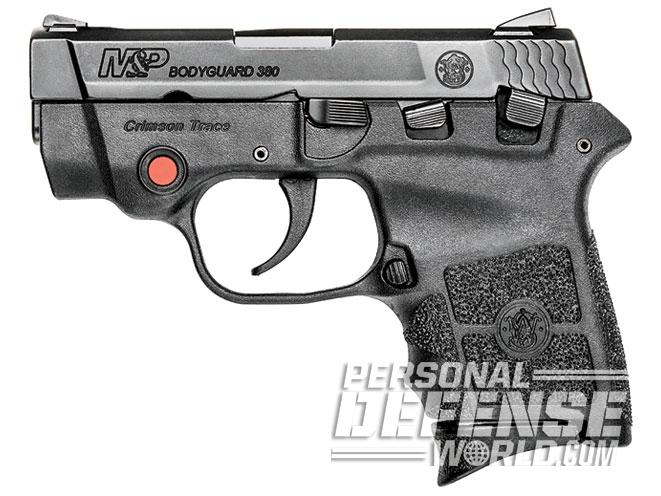concealed carry, smith wesson m&p bodyguard 380 crimson trace