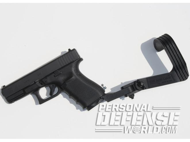 gill arm lock, gill firearms, glock gill arm lock