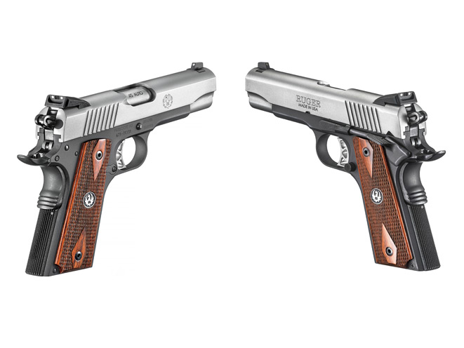 Gun Review Rugers Sr1911 Lightweight Commander
