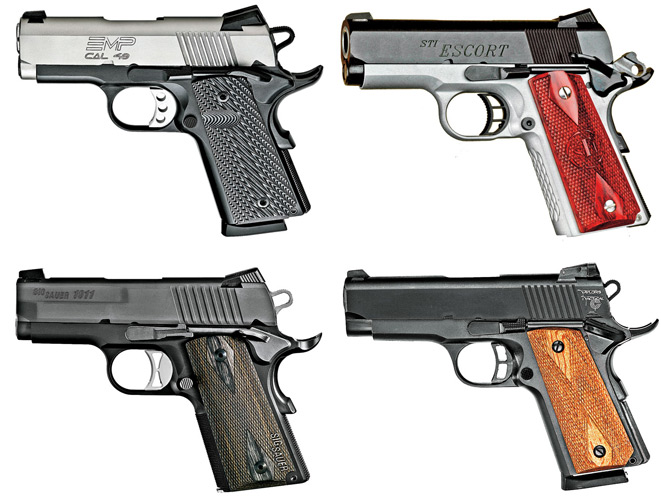Top 10 Compact 1911 Pistols For Concealed Carry Protection