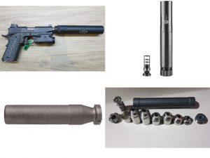suppressors, sound suppressors, silencer, silencers