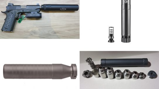 suppressors, sound suppressors, silencer, silencers