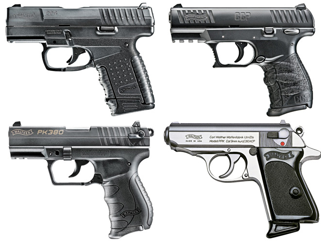 4 Walther Pocket Pistols For Concealed Carry Protection