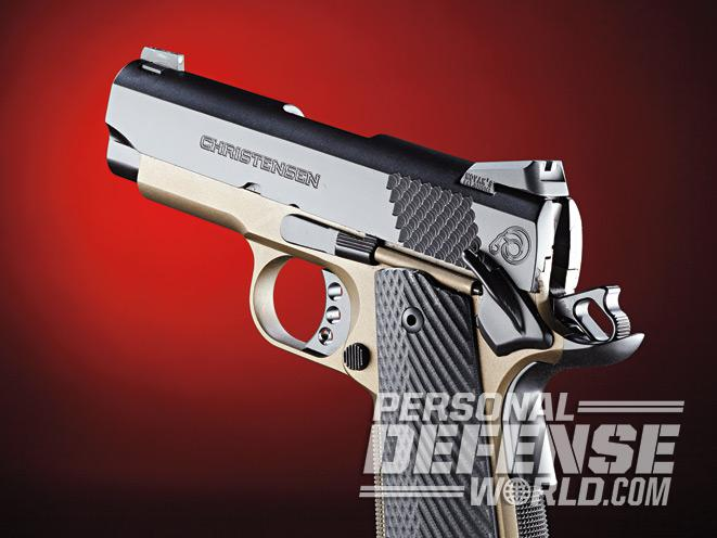 Christensen Arms 1911, christensen arms, Christensen Arms 1911 officer model, christensen arms 1911 government model