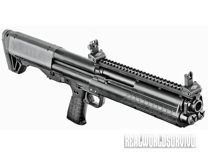 bullpup shotgun, bullpup rifle, Kel-Tec KSG