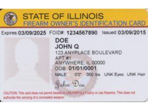 Illinois FOID Card, FOID, Illinois FOID