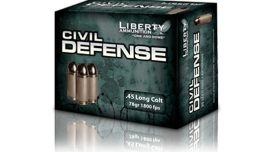 Liberty Ammunition .45 Long Colt, .45 long colt