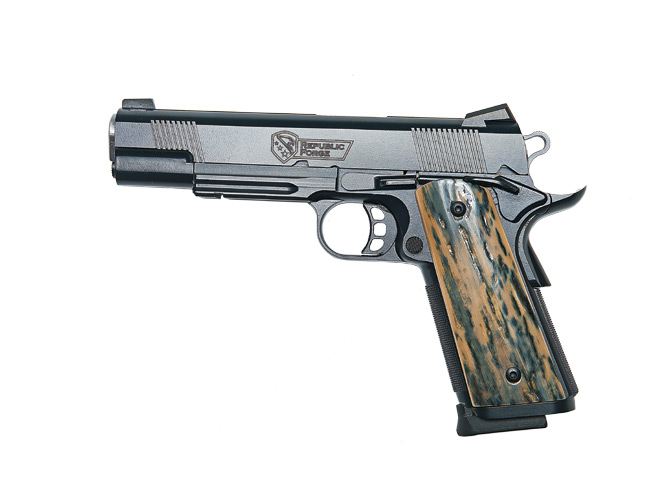 combat handguns, new products, remora, steel will, talon grips, glock, republic forge, tetra gun