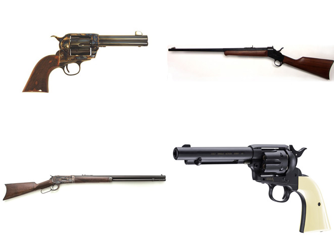 Top 4 Classic Old West Replica Guns Offered In 2015