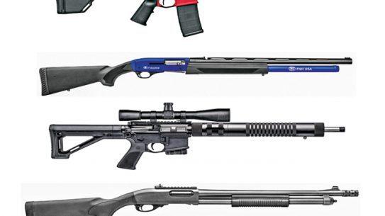 21 3-Gun Rifles, Shotguns and Pistols, rifles, shotguns, pistols, 3-gun, 3-gun competition, 3-gun rifles, 3-gun shotguns, 3-gun pistols