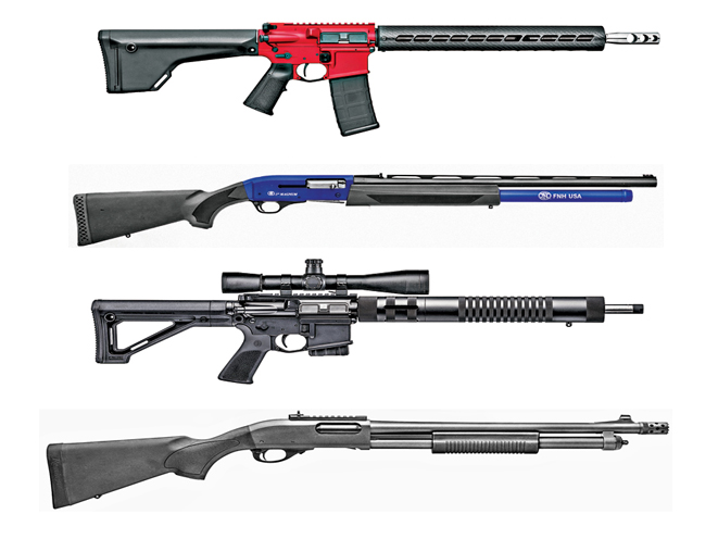 21 Rifles Shotguns And Pistols For 3 Gun Competition