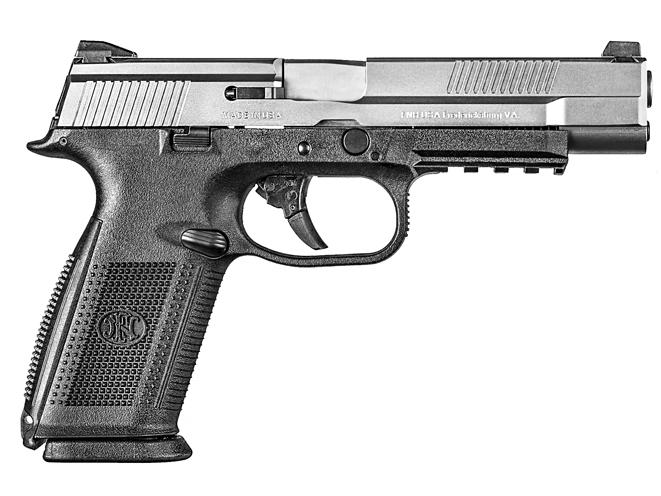 3-gun, 3-gun rifles, 3-gun pistols, 3-gun shotguns, 3 gun, 3-gun competition, FN FNS-9 LONG SLIDE