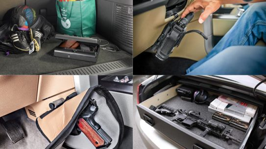 gun safe, gun safes, safes, safe, holsters, holster mounts, holster, vehicle holster, gun safe car, truckbunker