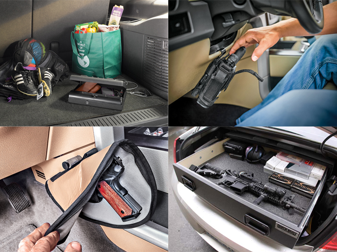 9 vehiclebased gun safes and holster mounts