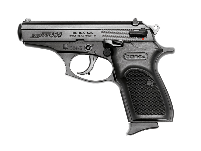bersa thunder, pocket pistols, .380, self-defense, pocket pistols self-defense, .380 pocket pistols