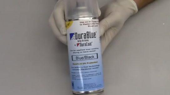 DuraBlue Spray-On Bluing, durablue, duracoat