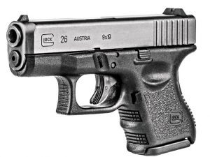 glock, glocks, glock self-defense, glock 26 profile, concealed carrier