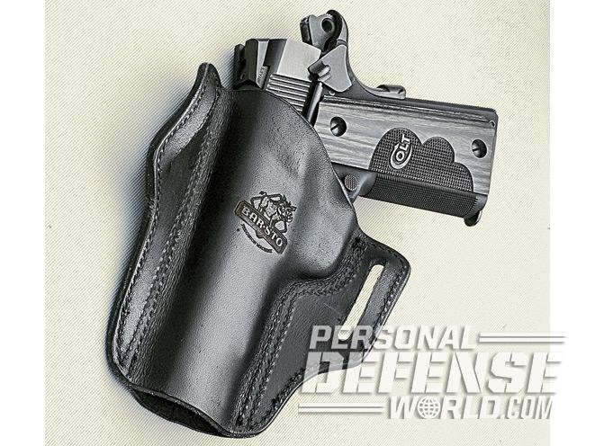 how to conceal full size handguns