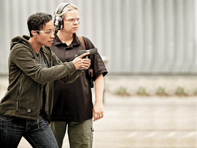 Ladies-Only Firearms Training Classes, firearms training, firearms training class, ladies-only gun training, training