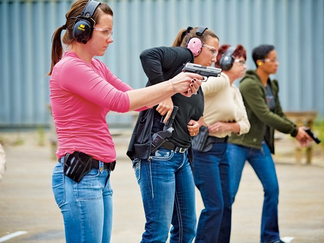 After a basic handgun class, most students leave with a newfound respect and confidence when it comes to using firearms.