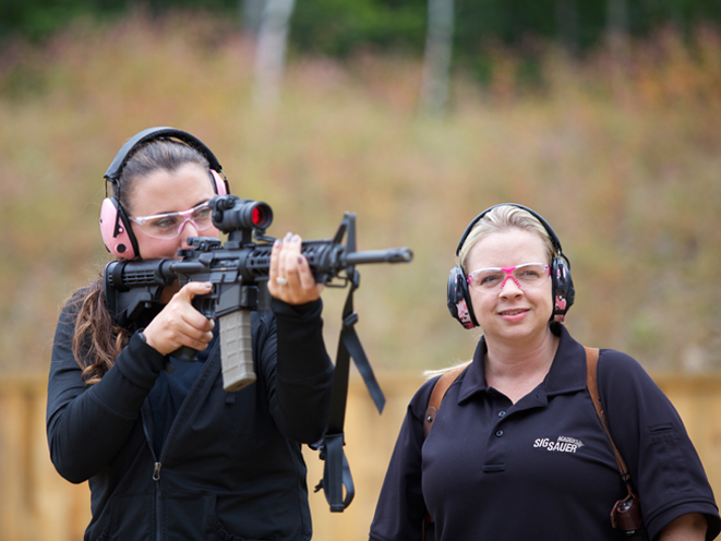Ladies-Only Firearms Training Classes, firearms training, firearms training class, ladies-only gun training, rifle training