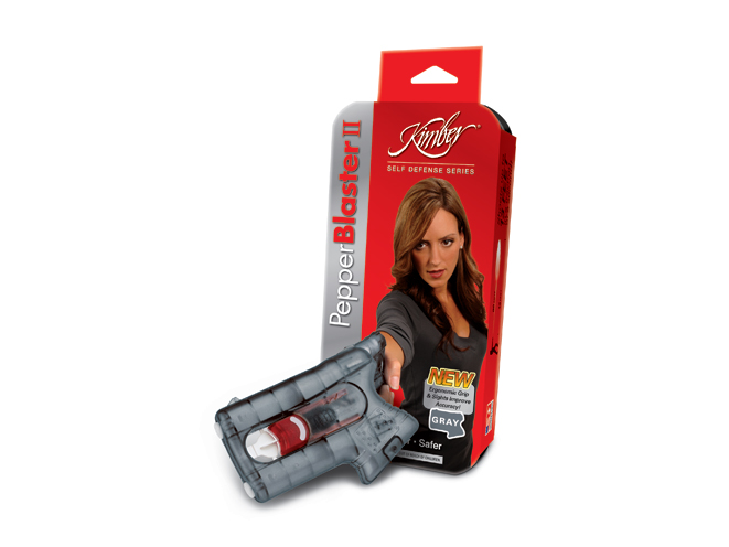 Kimber PepperBlaster II, kimber, pepperblaster II, kimber america, pepperblaster II spray, pepperblaster II red
