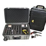 combat handguns, combat handguns products, combat handguns june 2015, QuickFire's QF920R Multi-Pistol Range Case