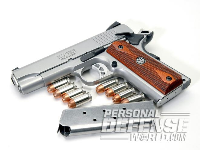 Ruger SR1911 Commander, ruger, ruger SR1911, SR1911CMD, RUGER SR1911CMD beauty shot