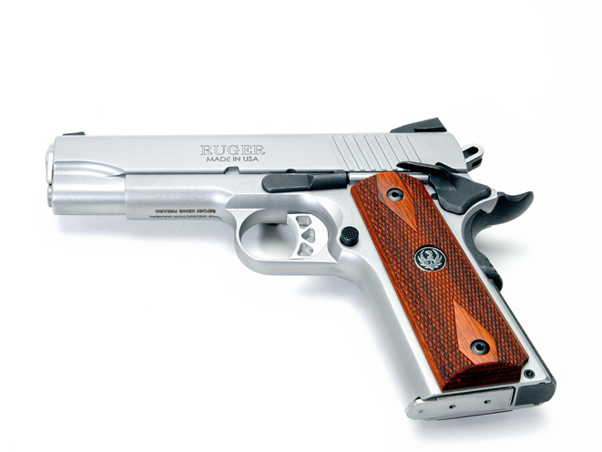 Ruger SR1911 Commander, ruger, ruger SR1911, SR1911CMD, RUGER SR1911CMD left side