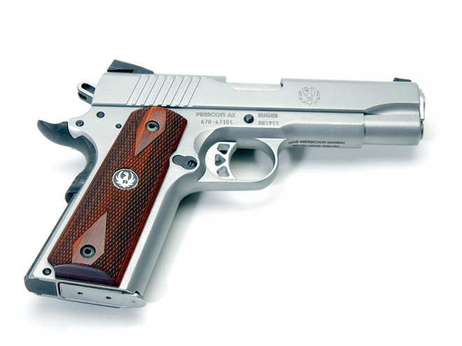 Ruger SR1911 Commander, ruger, ruger SR1911, SR1911CMD, RUGER SR1911CMD right side